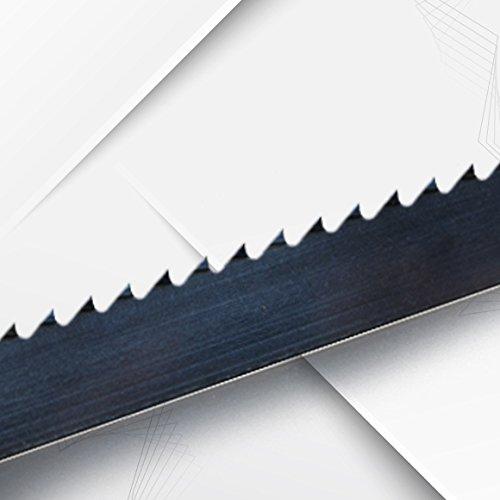 Bandsä geblatt fü r Scheppach HBS300 mit Gehä rtete Zahnspitzen Lä nge 2240 x 12 x 0, 60 x 7 mm Bandsägen Direkt