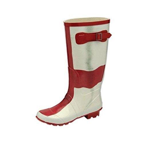 Wellington Fabbrica Sendit4me Bianco Secondi Rosso Stivali bianco Bandiera Inghilterra Di 1RpqS