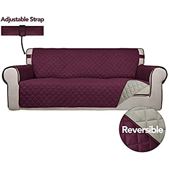 Amazon.com: Easy-Going Sofa Slipcover Reversible Sofa Cover ...