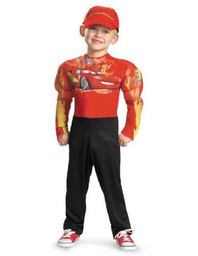 Mcqueen Costumes (Lightning Mcqueen Classic Muscle Costume - Medium (7-8))