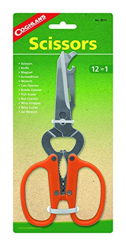 Camp Shears - Coghlan's 12-In-1 Scissors