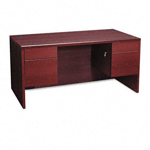 10500 Series 3/4-Height Double Pedestal Desk, 60w x 30d x 29-1/2h, Mahogany -