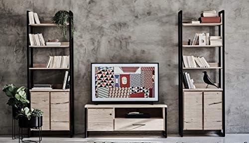 Main Möbel Jondrik - Credenza in Legno di Quercia, 150 x 80 cm