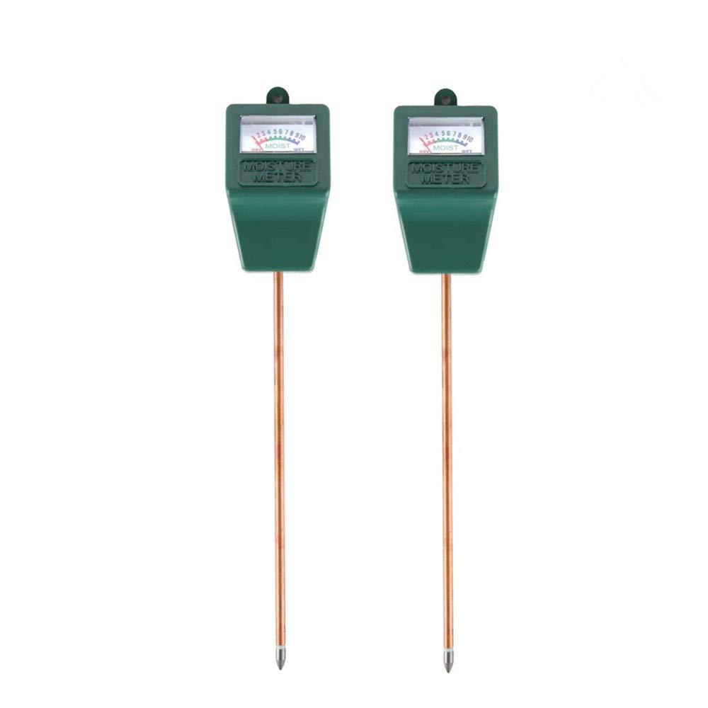BeFirst Soil Tester Moisture Sensor Meter,Hygrometer Moisture Sensor for Garden, Farm, Lawn Plants Indoor & Outdoor(No Battery Needed) (2 Pack)