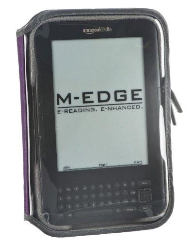 M-Edge Leisure Kindle Jacket, Purple (Fits Kindle Keyboard) (M Edge Keyboard Charger)