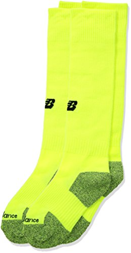 New Balance Kids Unisex 1 Pack All Sport Over the Calf Socks Safety Yellow