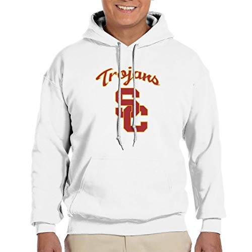 Southern California Hoodie - BAS-TS Southern California City University Mens Adult Pullover Hooded