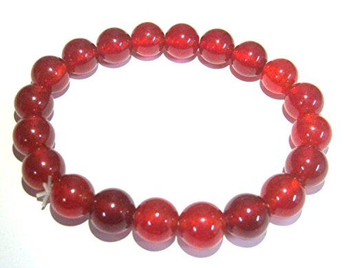 - CRYSTALMIRACLE EXCLUSIVE CARNELIAN BEADED GEMSTONE POWER BRACELET CRYSTAL HEALING CAREER FASHION JEWELRY MEN WOMEN GIFT WICCA PEACE HEALTH WEALTH HANDCRAFTED ACCESSORY WELLNESS POSITIVE ENERGY