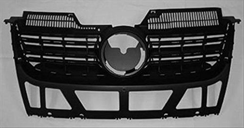 - OE Replacement Volkswagen Jetta Grille Assembly (Partslink Number VW1200139)