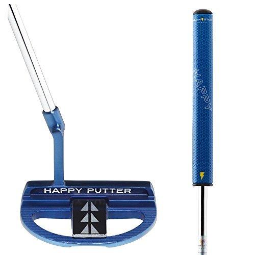 Brainstorm Golf- 2019 Happy Eye Align Mallet Putter 34