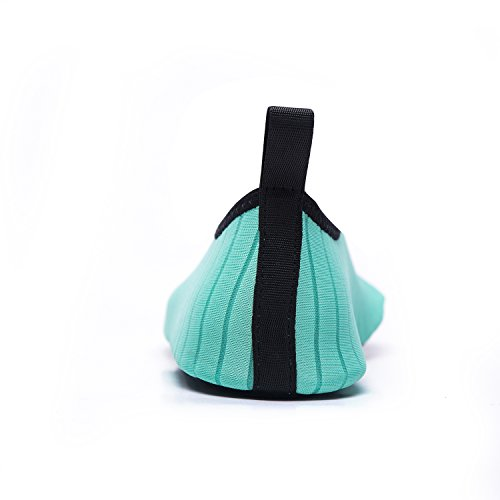 Elastico Uomini Scarpette Yoga Ballo Leggere Scarpe Donna da Immersione da Materiale Mare green Super Traspirante Antiscivolo Scoglio Scarpe Xc LeKuni Ragazzi Spiaggia Unisex Bagno da wq6B4