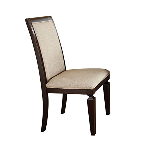 Cheap ACME 70487 Agatha Side Chair, Espresso Finish, Set of 2