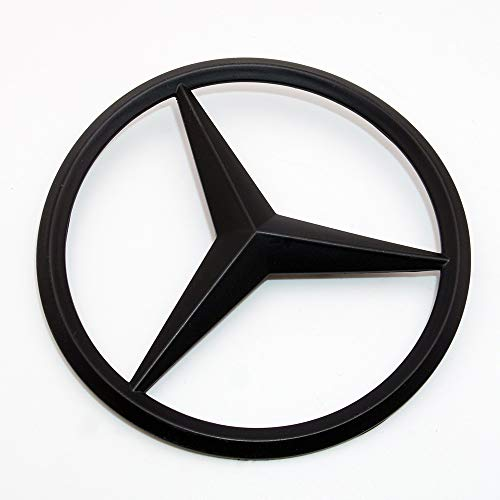 US85 Direct Mercedes-Benz Luggage Lid Adhesive Nameplate Star Logo Trunk Rear Emblem W205 Modified C-Class C 300 C43 C 63 S C 450 Sedan (Matte (Trunk Star Emblem)