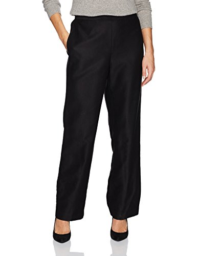 Alfred Dunner Womens Plus Size Short Pant Back Elastic Side Pockets