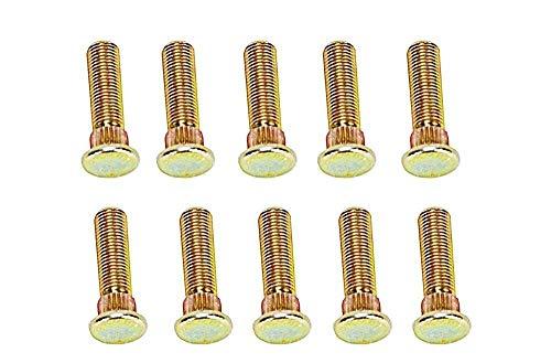 10 PACK GENUINE OEM PURE POLARIS OEM STUD-3/8-24X1.38,PRESS FIT-Z, 10 PACK, -