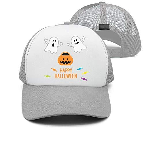 Halloween Ghosts Pumpkin Candies Hip-hop Crazy Mens/Womens mesh