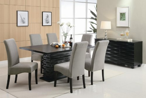 Coaster Stanton Contemporary Buffet Server in Black Finish by Coaster Home Furnishings