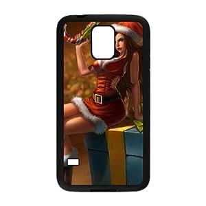 Samsung Galaxy S5 Cell Phone Case Black League of Legends MissFortune 006 YW5953204