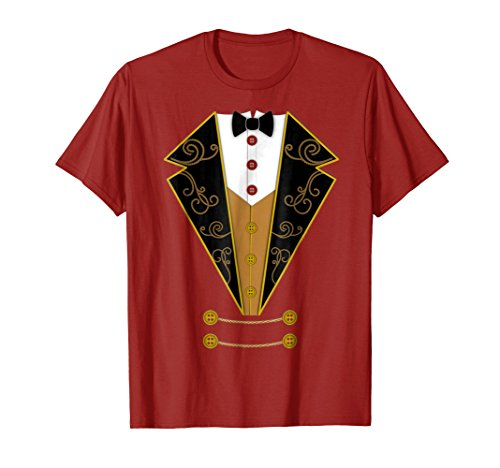 Circus Ringmaster Red Costume Showman Party Shirt Gift ()