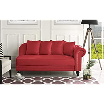 Amazon.com: Colchón tapizado de 55,9 pulgadas moderno de ...