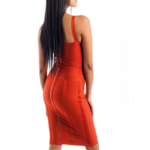 Strap Lacing Strap Sashes Polyester Dress Neck HLBandage Spaghetti Bodycon V Rot Bandage Women's T0qnWx8