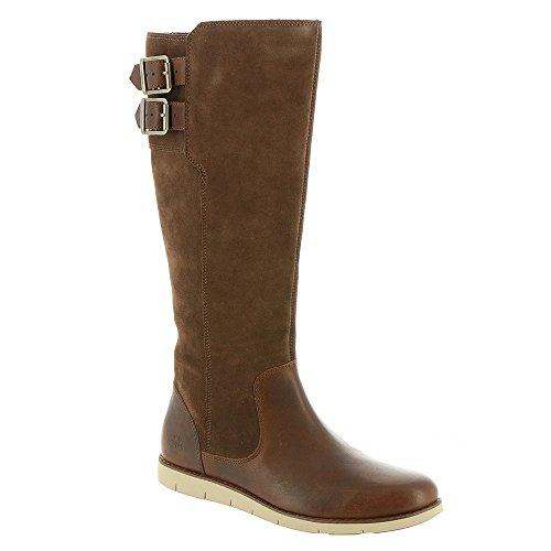 Timberland Women's Lakeville Tall Boot Medium Brown Full-Grain 6.5 B US