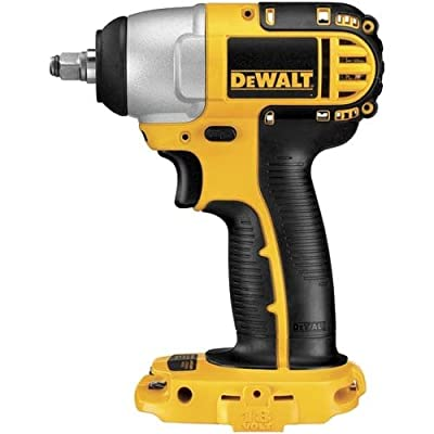 """DeWalt DC823B 3/8"""" 18 Volt Cordless Impact Wrench with Frameless Motor and 1,500,"""