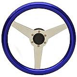 Uflex Boat Steering Wheel PONZA-PL/P | 13 1/8 Inch Metallic Purple
