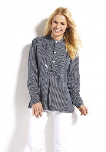 Fischerhemd Finkenwerder Stil breitgestreift von Modas Gr. L