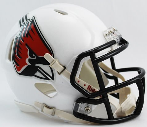 NCAA Ball State Cardinals Speed Mini Helmet by Riddell