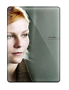 Ipad Cover Case - Spiderman Woman Blonde Girl Face Eyes Look Grey People Movie Protective Case Compatibel With Ipad Air