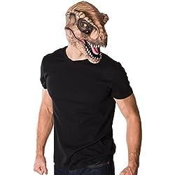 Rubie's Costume Co Men's Jurassic World T-Rex 3/4 Mask, Multi, One Size