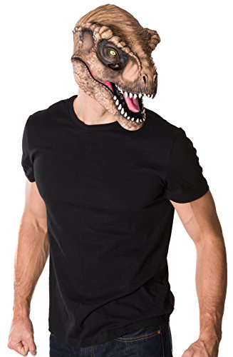 Rubie's Costume Co Men's Jurassic World T-Rex 3/4 Mask, Multi, One Size