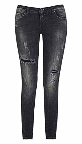Ltb Denim Jeans jeans Destroyed 100950764 Donna Slim xqHawY0qr