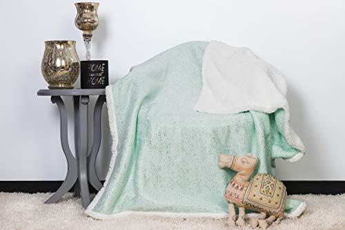 (Lala + Bash (LALDC) Ulta Plush Soft and Warm Sherpa Throw Blanket, 50