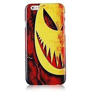 ZXM- caso trasero duro del patrón mueca halloween para iphone 6