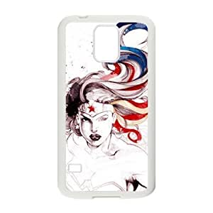 CTSLR Wonder Woman Hard Case Cover Skin for Samsung Galaxy S5-1 Pack -4