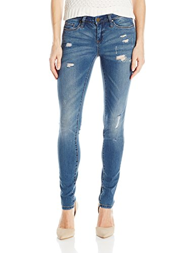 [BLANKNYC] Women's Skinny Classique Distressed Jean, Blue, 30 from [BLANKNYC]