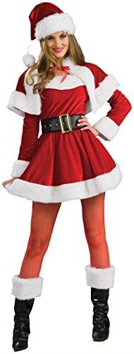 Rubie's Women's Santa's Helper Costume, Multi, -