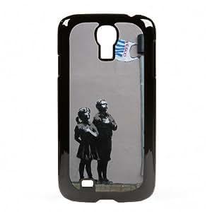 Case Fun Samsung Galaxy S4 (i9500) Vogue Case - Graffiti Tesco Flag Children
