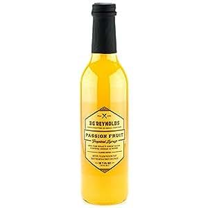 BG Reynolds Passion Fruit Syrup (375ml, 1 Bottle)