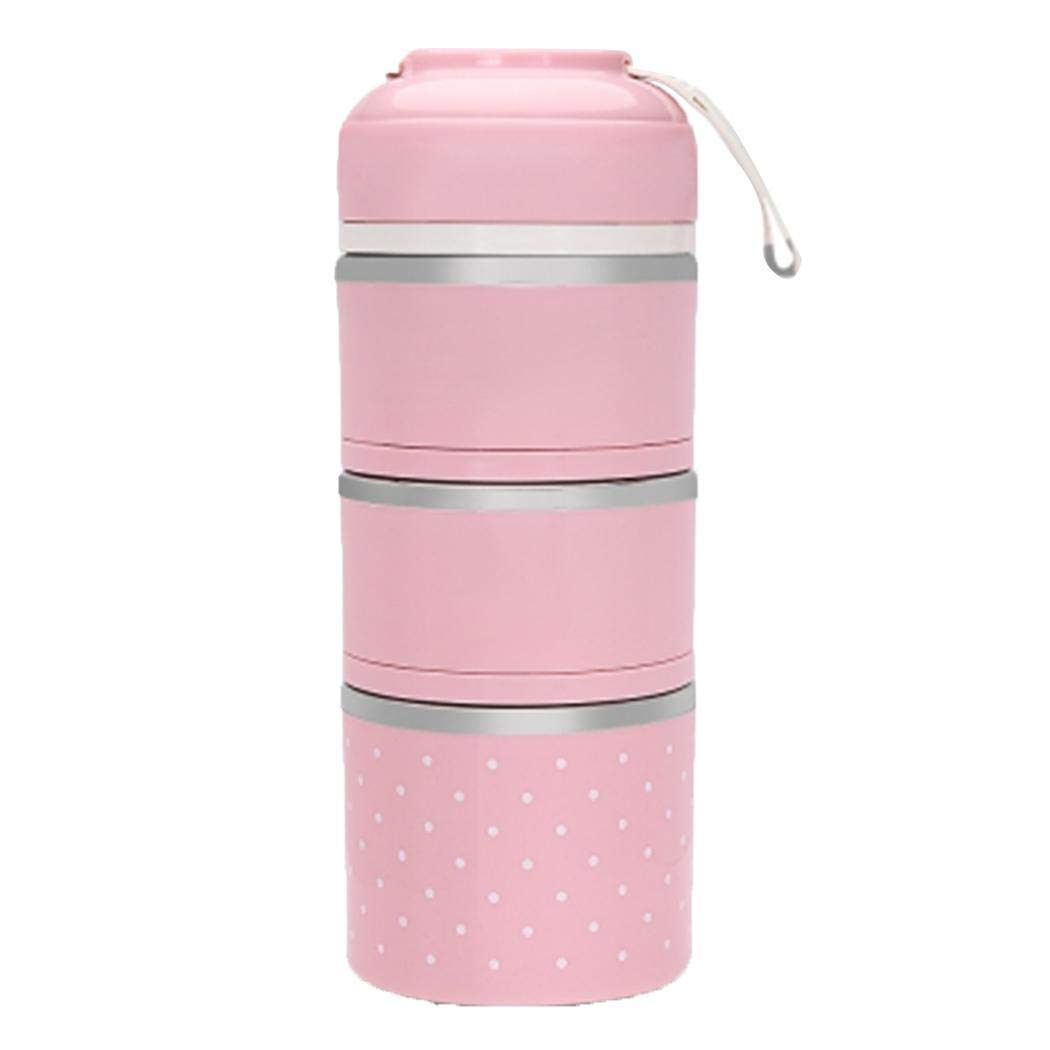 Villeur Stainless Steel Thermal Lunch Box Outdoor Camping Insulated Food Container Lunch Boxes by villeur