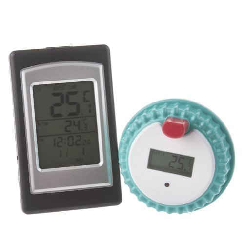 SVP Wireless Digital Swimming Pool SPA Floating Thermometer