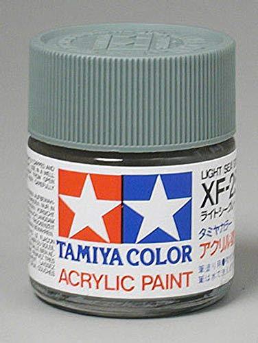 Tamiya America, Inc Acrylic XF25 Flat, Light Sea Gray, TAM81325
