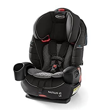 Image of Baby Graco Nautilus 65 LX 3 in 1 Harness Booster Car Seat, Featuring TrueShield Side Impact Technology