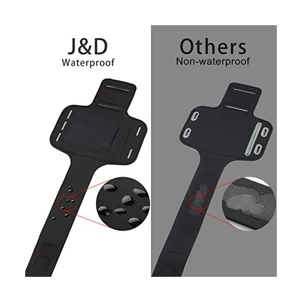 J&D Brassard LG K30, Brassard LG K10 2018, Brassard Sport pour LG K30, LG K10 (Release in 2018), Poche pour clés, entrée…