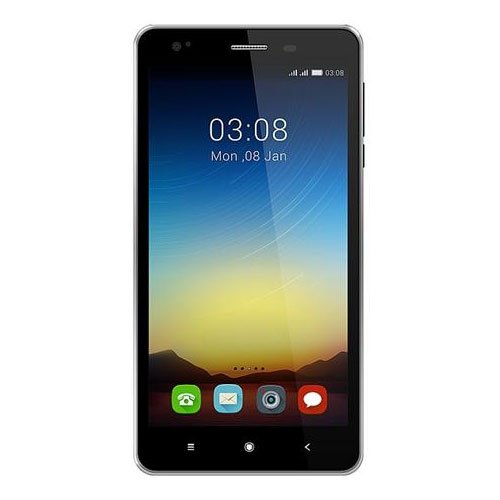 Videocon Krypton V50DA Dual Sim Smart Phone    8  GB, Black