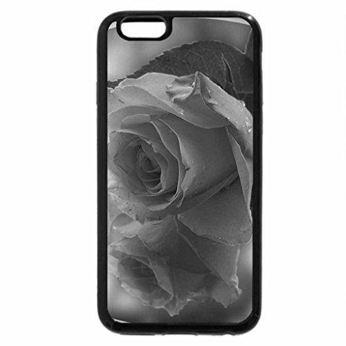 iPhone 6S Plus Case, iPhone 6 Plus Case (Black & White) - Tee rose