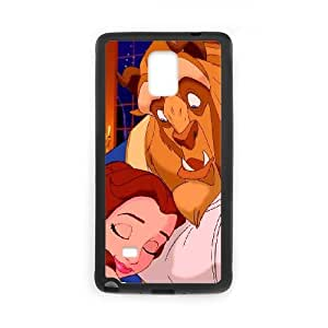 Samsung Galaxy Note 4 Cell Phone Case Black Disneys Beauty and the Beast 068 SH3019789