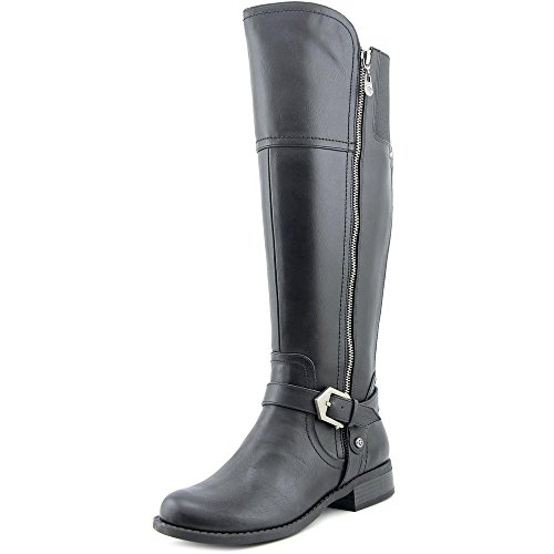 Guess Boots Women - G by GUESS Womens Hailee Closed Toe Knee High Fashion Boots, Black, Size 6.0
